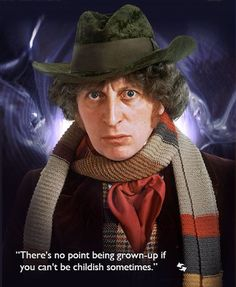 TOM BAKER(1974 - 1981) Witnessing the genesis of the Daleks to preventing the death of the universe, the 4th Dr was an epic adventurer. With a smile, charm & righteous morality, he defeated Sontarans, ancient vampires & the Black Guardian. It was this doctor that found & reassembled the Key to Time, tried to reason w/Davros at the birth of the Daleks, & was invested as Lord President of the High Council of Time Lords. Always selfless, his 4th body died saving the universe from the Master...