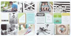 Pages by Donya Gjerdingen featuring the Kiwi Edition, Dreamy Edition, and Strawberry Edition.