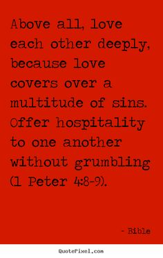 #love and #hospitality #biblequote #entertaining
