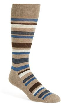 Free shipping and returns on Nordstrom Men's Shop 'Cushion Foot' Stripe Socks (3 for $30) at Nordstrom.com. Sophisticated stripes stand out on heathered stretch-cotton socks featuring generous comfort cushioning.