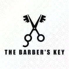The Barber's Key logo