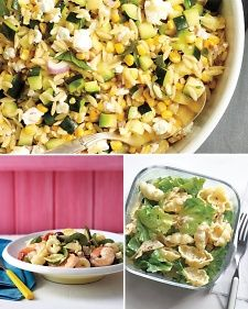A flavorful favorite, pasta salad can serve as a main course or side dish. While welcome anytime, summer is truly its season to shine -- at picnics and barbecues. Find recipes for creamy pasta salads, Asian versions, and varieties with seafood -- the options never end.