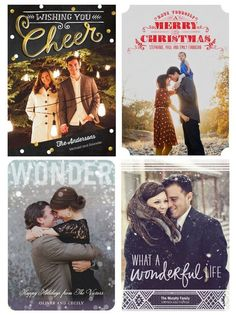 Tiny Prints holiday cards. Love this website!