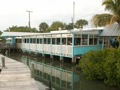 Casey Key Fish House, trust me you will not be disappointed if you visit this waterside restaurant. The food is excellent and its old Florida atmosphere at its best.