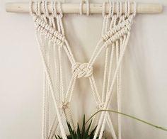 Wall Plant Hanger // Josephine // Macrame Plant Hanger //