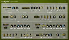 iloSynth-1 is a subtractive analog-modelling soft-synth with comprehensive modulation routings. http://www.vstplanet.com/Instruments/VST_Synthesizers.htm