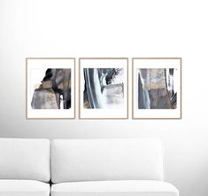 Abstract Art Print Set Set of 3 Prints digital download art