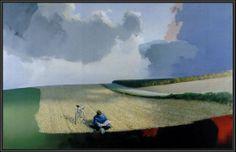 Poul Anker Bech (1942-2009). Danish artist.