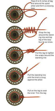 """Learn how to tie these crucial knots by reading """"Best Fly Fishing Knots. Fishing Hook Knots, Fly Fishing Gear, Fishing Gifts, Fishing Lures, Fly Fishing Lanyard, Best Fishing Knot, Sport Fishing, Fishing Rods, Ice Fishing"""