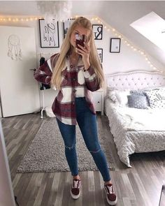 Casual School Outfits, Cute Casual Outfits, Simple Outfits, Mode Outfits, New Outfits, Fall Outfits, Winter Fashion Outfits, Look Fashion, Heutiges Outfit
