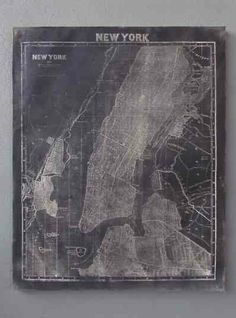 NYC Map from redinfred