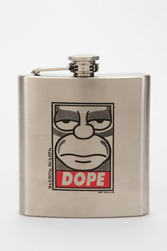 Shepard Fairey X The Simpsons Dope Flask  #UrbanOutfitters