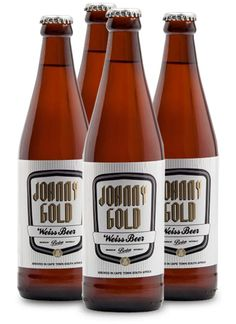 JOHNNY GOLD WEISS #BostonBreweries #CraftBeer Craft Beer, Brewery, Liquor, Clock, African, Bottle, Water, Gold, Alcohol