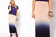 30 Maxi Skirts That Won't Max Out Your Wallet via Brit + Co.