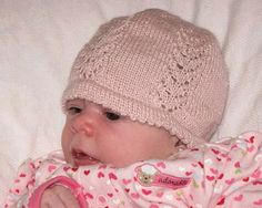 What a cute hat to knit