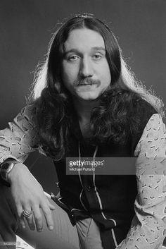Guitarist Mick Box of British rock group Uriah Heep, 13th March 1975.