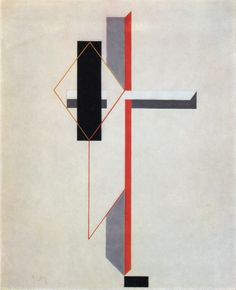 El Lissitzky - Proun 1922