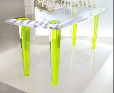 Nice angle of the table I want by Alexandra Von Furstenberg