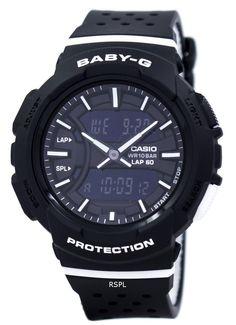 Casio Baby-G Shock Resistant Dual Time Analog Digital Women's Watch - ZetaWatches G Watch, Casio Watch, Casio Baby G Shock, Authentic Watches, Countdown Timer, Bga, Watches Online, Digital, Solar