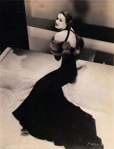 """Gail Patrick, """"Her Husband Lies"""", 1937 Dress by Edith Head 