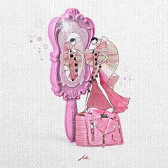 Illustration.Files: Moschino S/S 2015 Fashion Illustration by JSK