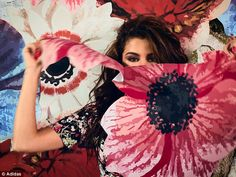 Flower power: It was revealed that Selena had paid a visit to rehab in early January but it wasn't for substance abuse