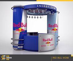 Red Bull Kiosk on Behance