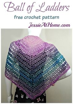 Ball of Ladders - free crochet pattern by Jessie At Home