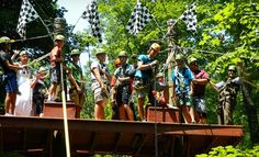 Groupon - Zipline Canopy Tour at eXplore Brown County at Valley Branch Retreat (Up to 59% Off). Five Options Available.. Groupon deal price: $75.00