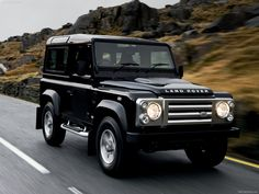 Land Rover Defender SVX - Land Rover's anniversary edition
