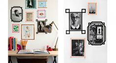 12 Ideas for decorating with masking tape