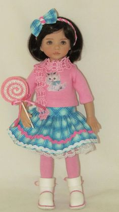 """OOAK Outfit for Effner 13"""" Little Darling"""