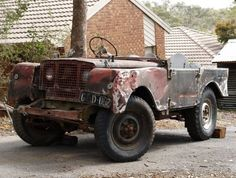 Land Rover Serie 1, Land Rover Defender, Off Roaders, Best 4x4, Go Car, Expedition Vehicle, Abandoned Cars, Jeep Truck, Land Rovers
