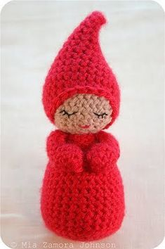 Sweet! She is so peaceful! Free crochet pattern!