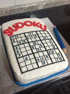PDpenZ: Sudoku cake