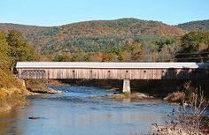 Picture of the West Dummerston Bridge