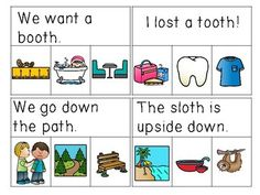 Digraph Sentences Read & Clip Cards kindergarten- 1st grade literacy centers School Resources, Teaching Resources, Teaching Ideas, Teacher Notebook, Teacher Hacks, Elementary Teacher, Elementary Schools, Thing 1, Little Learners