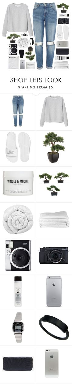 """""""MISTAKES AREN'T REALLY MISTAKES AT ALL"""" by feels-like-snow-in-september ❤ liked on Polyvore featuring River Island, Monki, NIKE, Windle & Moodie, Nearly Natural, Brinkhaus, Frette, Fuji, Fujifilm and Koh Gen Do"""