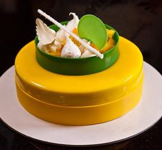 "#mulpix My friend and chef @ramonmorato invited me to share my work for 7 days and nominate another pastry chef to the challenge . For day  #6 I would love to share ""Caribbean Entremet ""  at @valrhonausa school. My nominee is my friend and talented chef @chefphilippegivre . Mi amigo y chef @ramonmorato me invitó a compartir mi trabajo por 7 días y a nominar a otro chef para el reto. Voy a compartir el ""entremet Caribe "" Mi  nominado es mi amigo y chef  @chefphilippegivre !  Chef acepta el…"