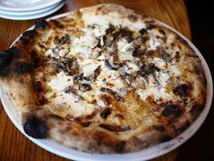 Ghibellina bianca pizza