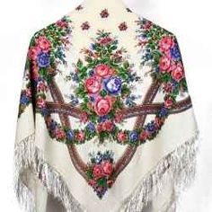 Russian shawls are like no other. They are beautiful pieces of art that are made the same way they were made over 210 years ago. (You can't say...
