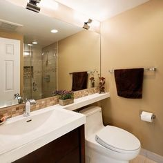 Small Full-bathroom Design, Pictures, Remodel, Decor and Ideas - page 18