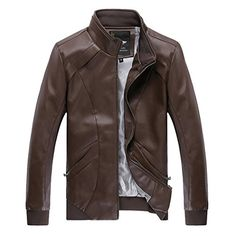 WenVen Men's Fall & Winter Fashion PU Leather Jackets  http://www.yearofstyle.com/wenven-mens-fall-winter-fashion-pu-leather-jackets/