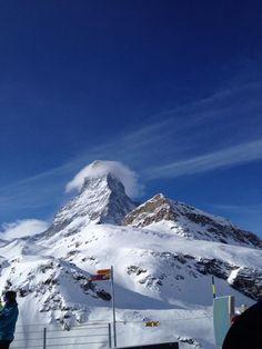 Le Mont Cervin (Matterhorn) at Zermatt