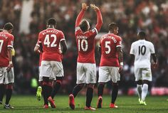 Rooney celebrates - August 2014