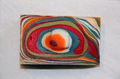 Love the visual effect of this soap! A few photos showing technique on website. HOLTON ROWER SOAP