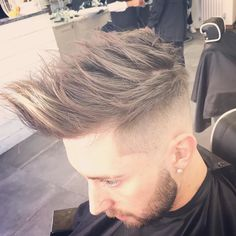 Haircut by menspiresalon http://ift.tt/1Ug9qVr #menshair #menshairstyles #hairstyles #barbers