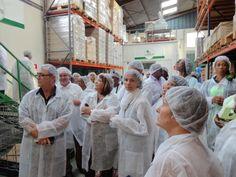 Les Distributeurs Privilégiés Antilles - Guyane - Réunion en visite à l'usine F M