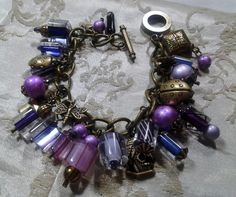 "One more Pop of Color entry for April - ""In the Garden"" bracelet - Amy Jorgensen, Ameme Designs"