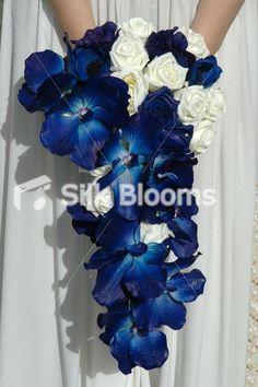 Navy wedding bouquet